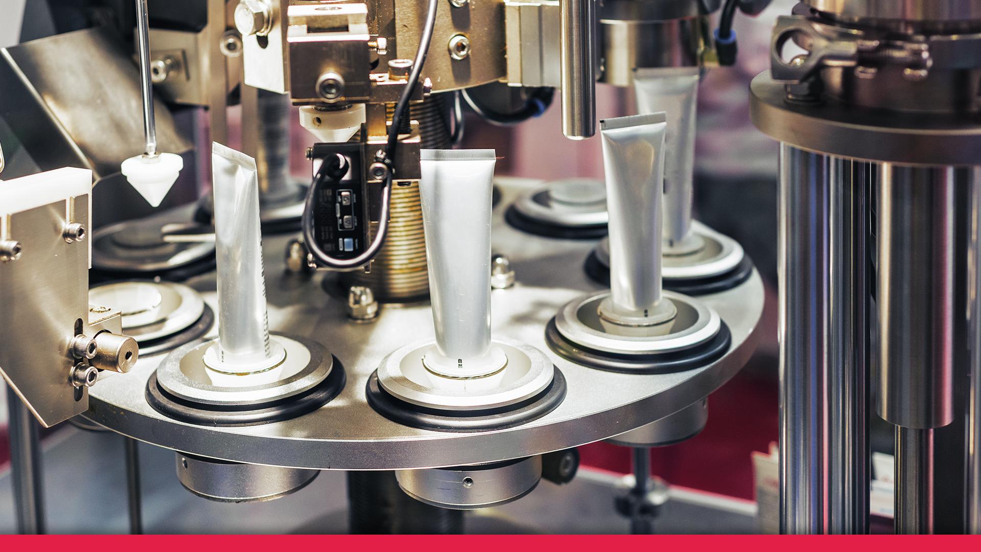 Automatización en la industria cosmética