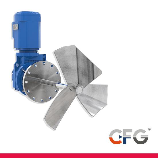 Agitadores industriales de CFG Mixers