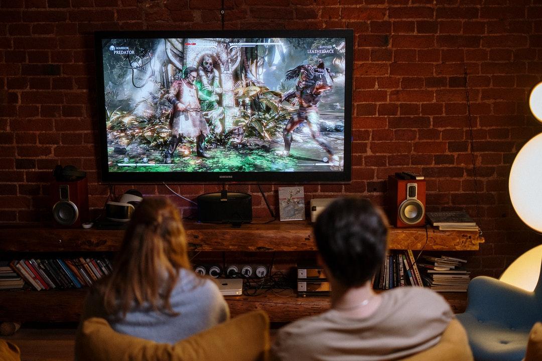 Imagen sobre la realidad virtual en los video juegos